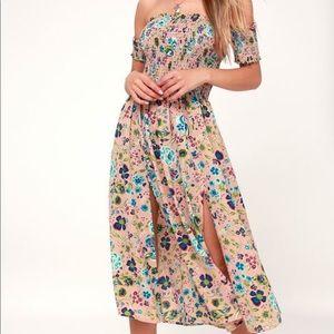 Lulus Floral Print Dress, NWT, XL